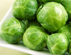cruciferous vegetables like Brussel's Sprouts lower blood pressure